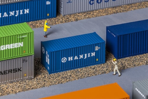 H0 20' Container HANJIN