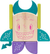 Tegu - Magnetisches Holzset Pip 8 Teile