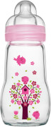 MAM Feel Good Glass Bottle (Mädchen), 260 ml