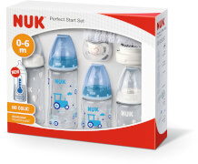 NUK First Choice PlusPerfect Start Set Boy mit Temperature Control